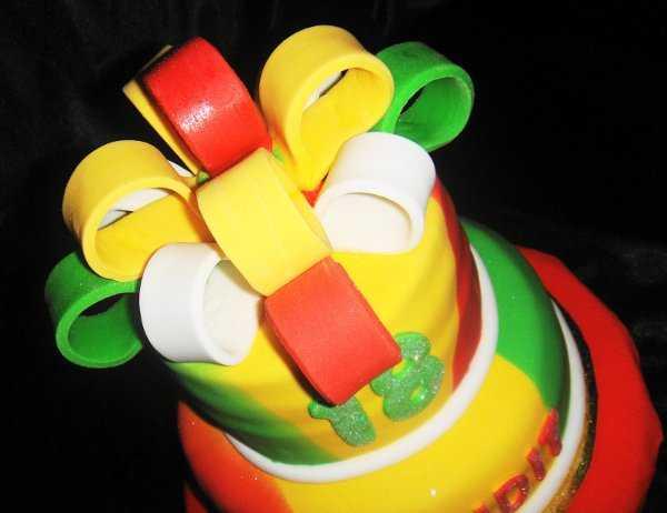 Torta estilo reggae ¡Infaltable!