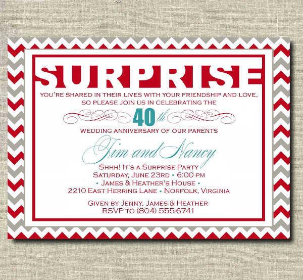 Preparando Una Fiesta Sorpresa Conoce Las Invitaciones Más