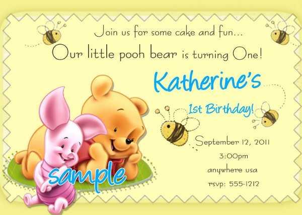 Fondo para invitación de bautizo de winnie de pooh - Imagui