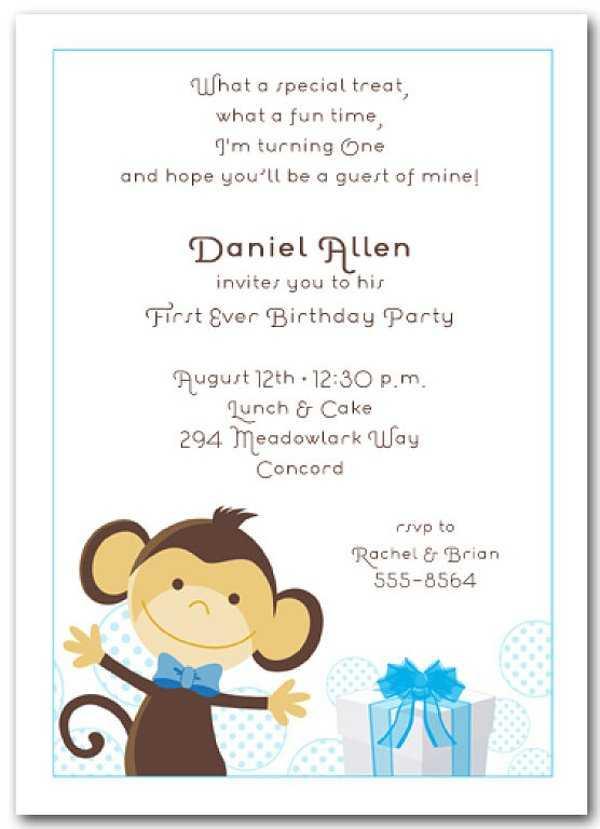 Invitaciones para el primer añito de tu hijo o hija | Fiesta101