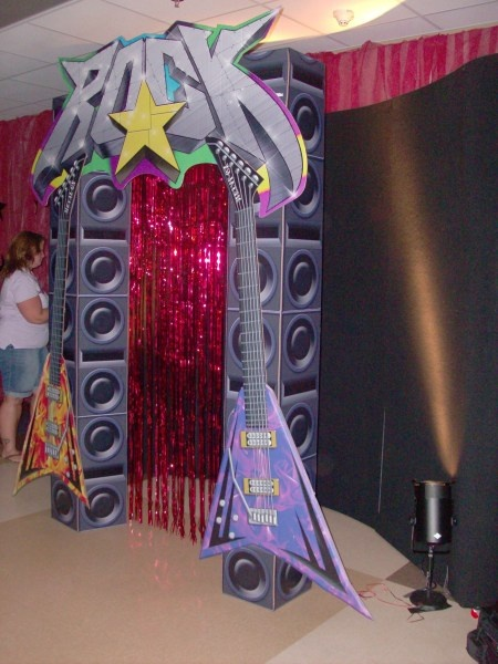 Decorar Karaoke ~ Haz una fiesta tem?tica al estilo Rock and Roll!  Fiesta101